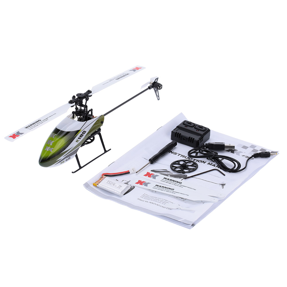 Falcon K100-B 6CH 3D 6G System BNF RC Helicopter Remote Control Aircraft Plane Electronic Flying Toys Clearance Sales (1)