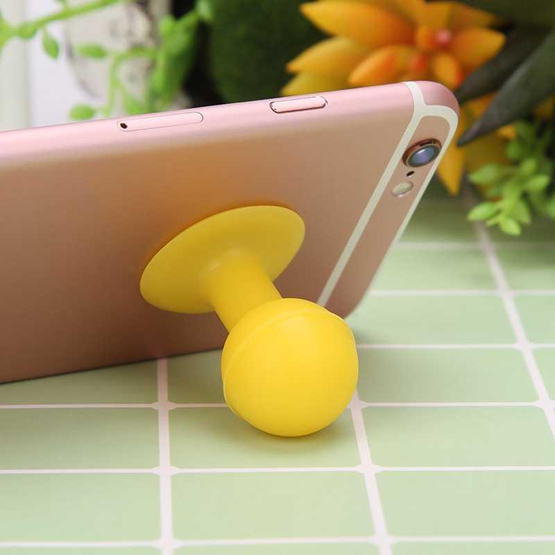 Universal Silicone Face Ventosa Titular Otário Suporte Para iPhone Para Samsung Para Huawei Para xiaomi Telefone Titular Cor Aleatória