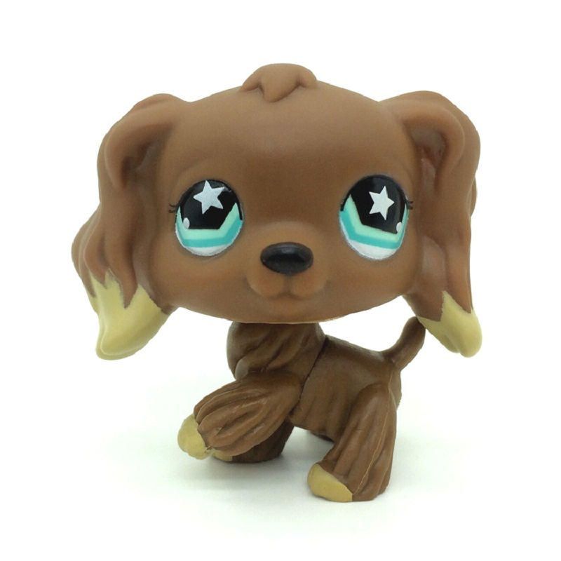5 pcs Random Choice Littlest Pet Shop Dachshund series pubby Dog LPS