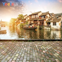 Yeele Summer Jiangnan Town Photocall Ancient Builds Photography Backdrops Personalized Photographic Backgrounds For Photo Studio