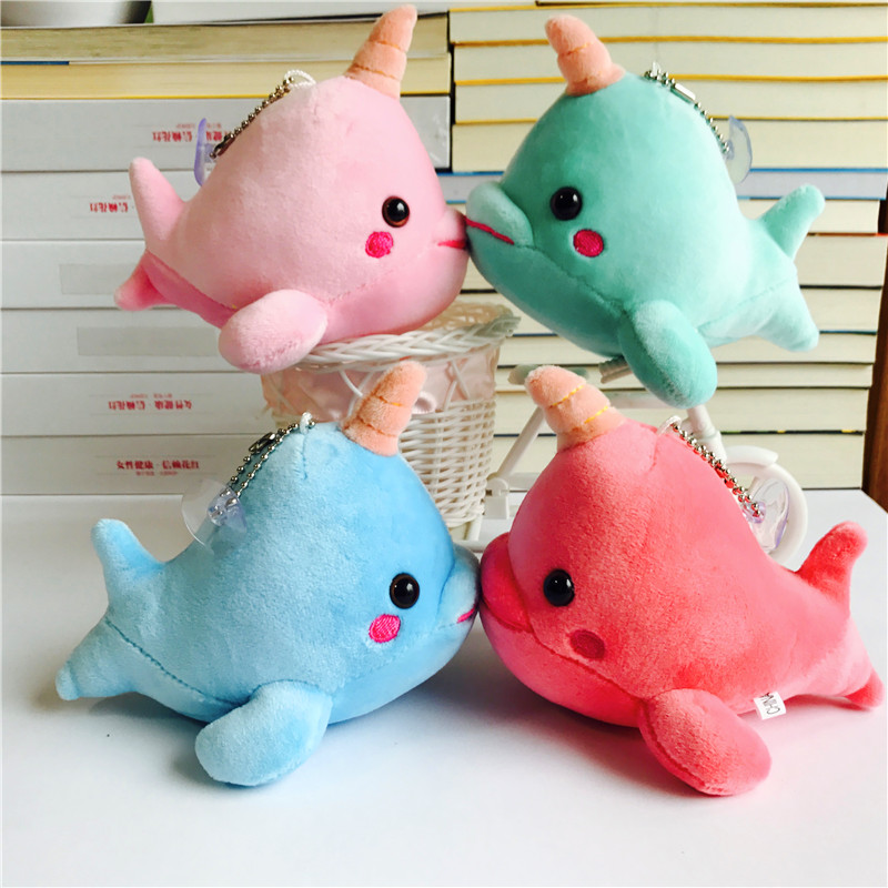 Lower Price with Ivyye 13cm Whale Anime Stuffed Plush Dolls Chain Pendant Fluffy Ornament Dolls Keychain Cartoon Soft Toys Gifts New Factories And Mines Stuffed Animals & Plush