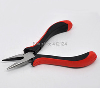 5Pcs Wholesale Chain Nose Pliers Red Black Silver Tone Beading For Jewelry DIY Jewelry Tool Equipments