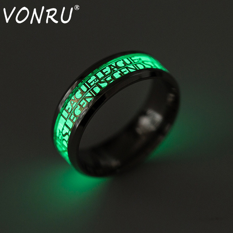 Popular Games LOL League of Legends Rings Men Stainless