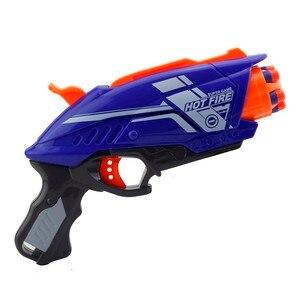 Image 3 - 2020 ใหม่พลาสติกปืนของเล่นสำหรับNERF Elite Series Blaster 20pcs Soft EVA Bulletเด็กปืนของเล่นสำหรับชาย