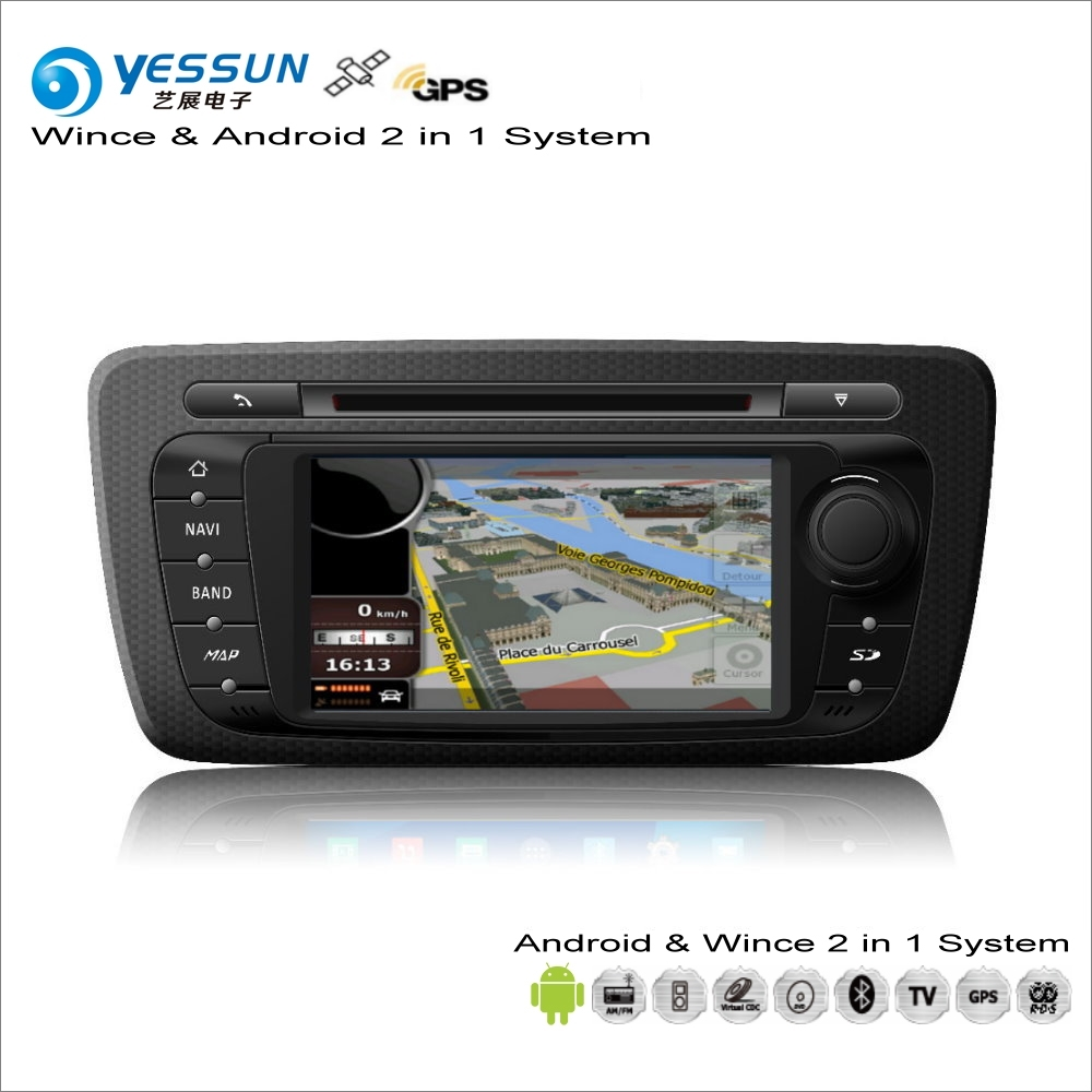 YESSUN For SEAT Ibiza MK4 2008~2013 Car Android Multimedia Radio CD DVD Player GPS Navi Map Navigation Audio Video Stereo System цена 2017