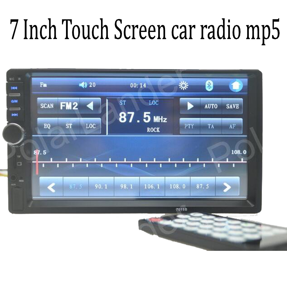 7 Inch Touch Screen 2 Din Bluetooth font b Car b font font b Radio b