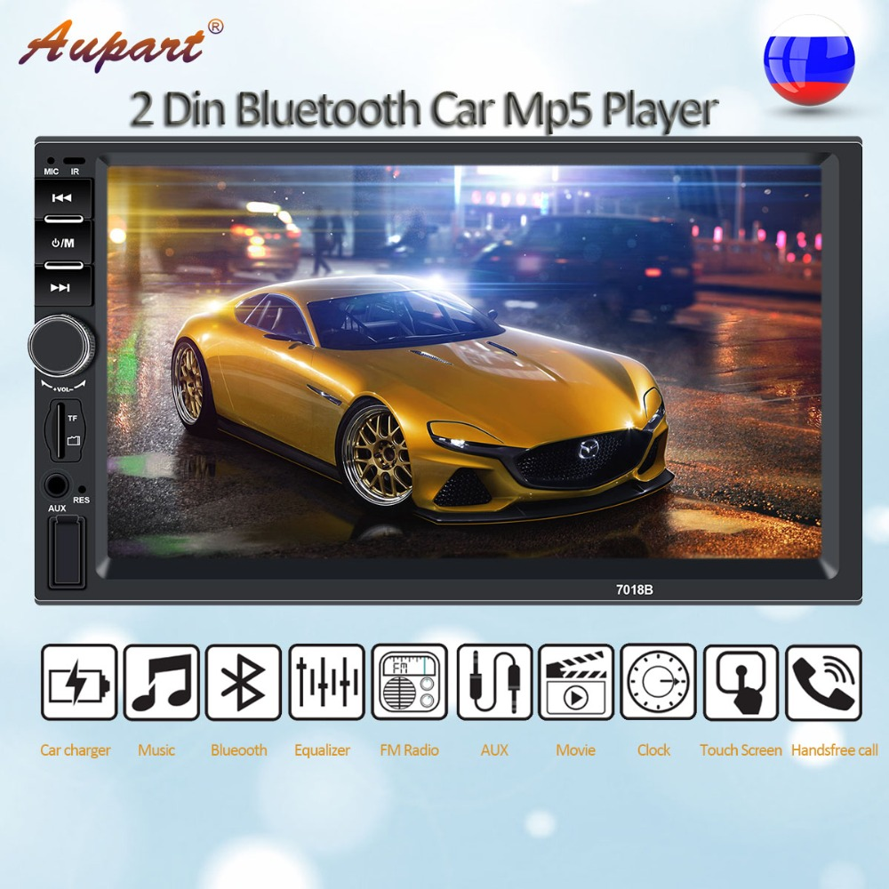 Autoradio 2 Din car multimedia radio aux Receiver audio rear view camera 2din radios android mirrolink for car stereo-in Car Multimedia Player from Automobiles & Motorcycles