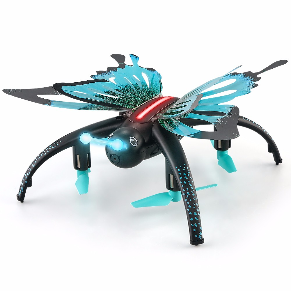 Original JJRC H42WH Butterfly WIFI FPV 0.3MP Camera Pocket Drone Mini Quadcopter RC Selfie Drone Helicopter