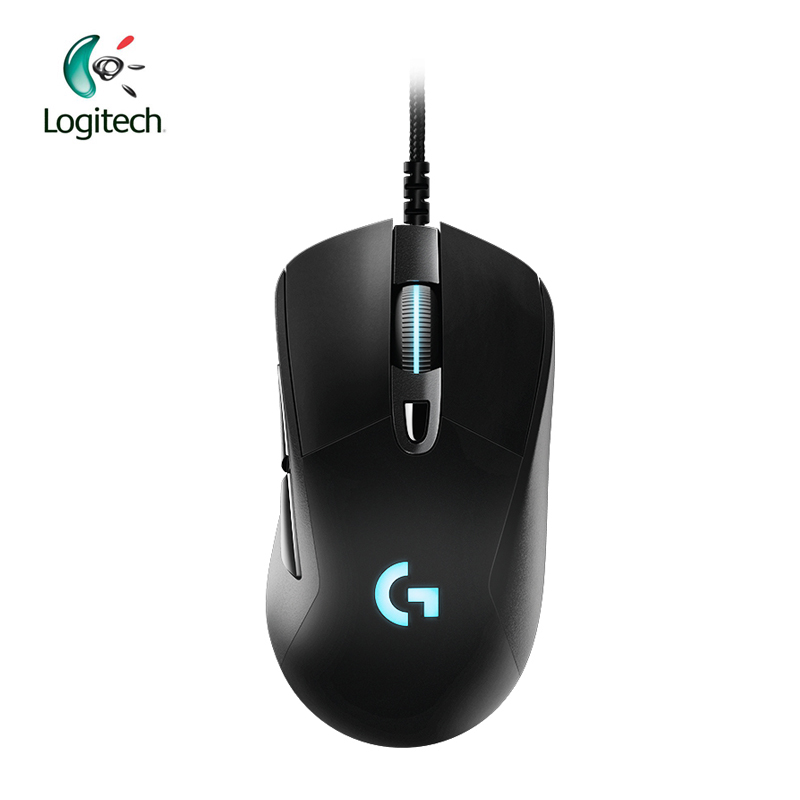 Original Logitech G403 Gaming Mouse Wired RGB Game Mouse for Mouse Gamer Support Desktop/ Laptop Support Windows 10/8/7 logitech m570 2 4g wireless gaming mouse optical trackball ergonomic mouse gamer for windows 10 8 7 mac os support official test