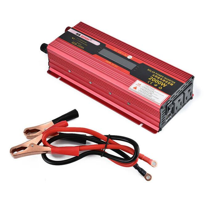 все цены на 2000W WATT Peak Car LED Power Inverter DC 12V to AC 110V Dual Converter Charger онлайн