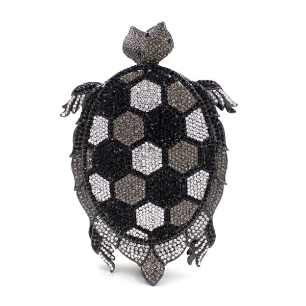 tortoise shape green banquet Purse Golden Crystal Evening Clutch black Purse Bag Party Wedding Female handbags Day Clutches top design red crystal evening bag roundness luxury clutch bags wedding party purse prom handbag silver banquet bag day clutches