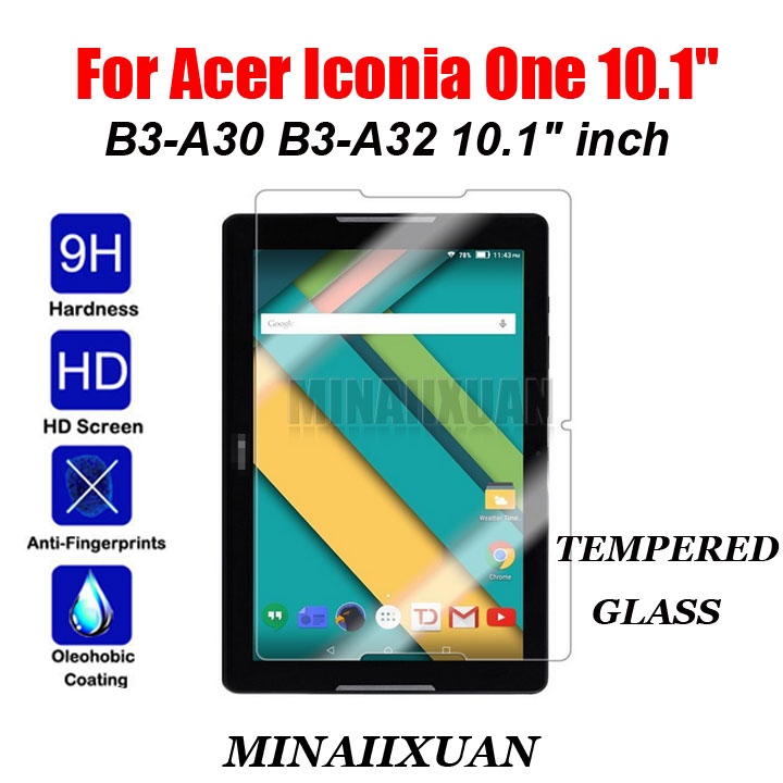 9H Explosion-Proof Tempered Glass Screen Protector Protective Film For Acer Iconia One 10 B3-A30 B3-A32 B3 A30 10.1