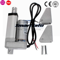 Electric Linear Actuator 12v DC Motor 50mm Stroke Linear Motion Controller 4mm/s 1500N Heavy Duty