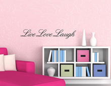 LIVE LAUGH LOVE Wall Art Quote Vinyl Decal Home