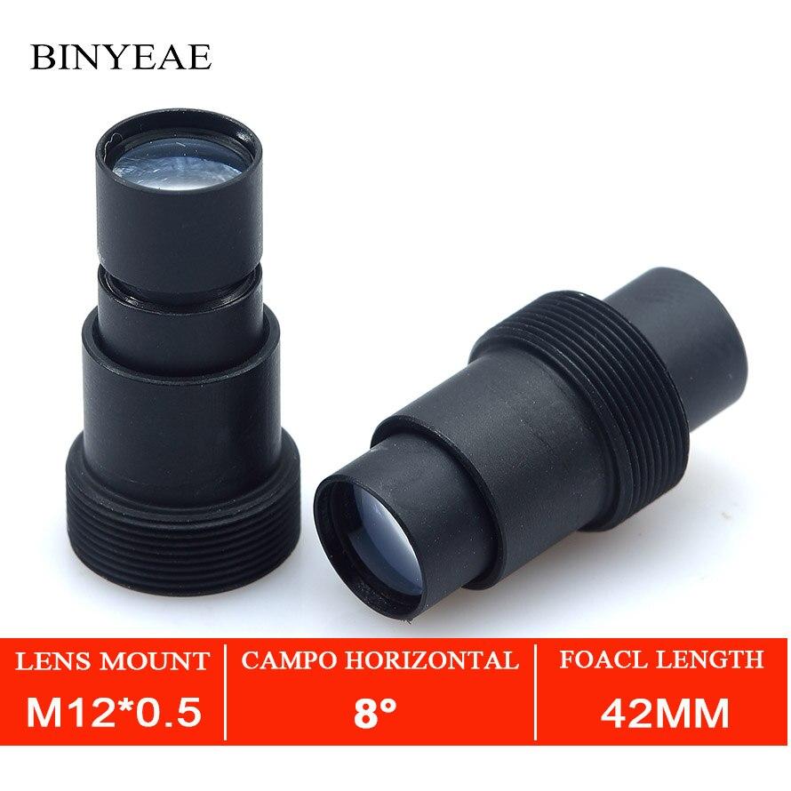 BINYEAE 2,0 мегапиксельная HD 42 мм Плата объектива Объектив для CCTV длинный Просмотр объектива камеры безопасности ручной фокус