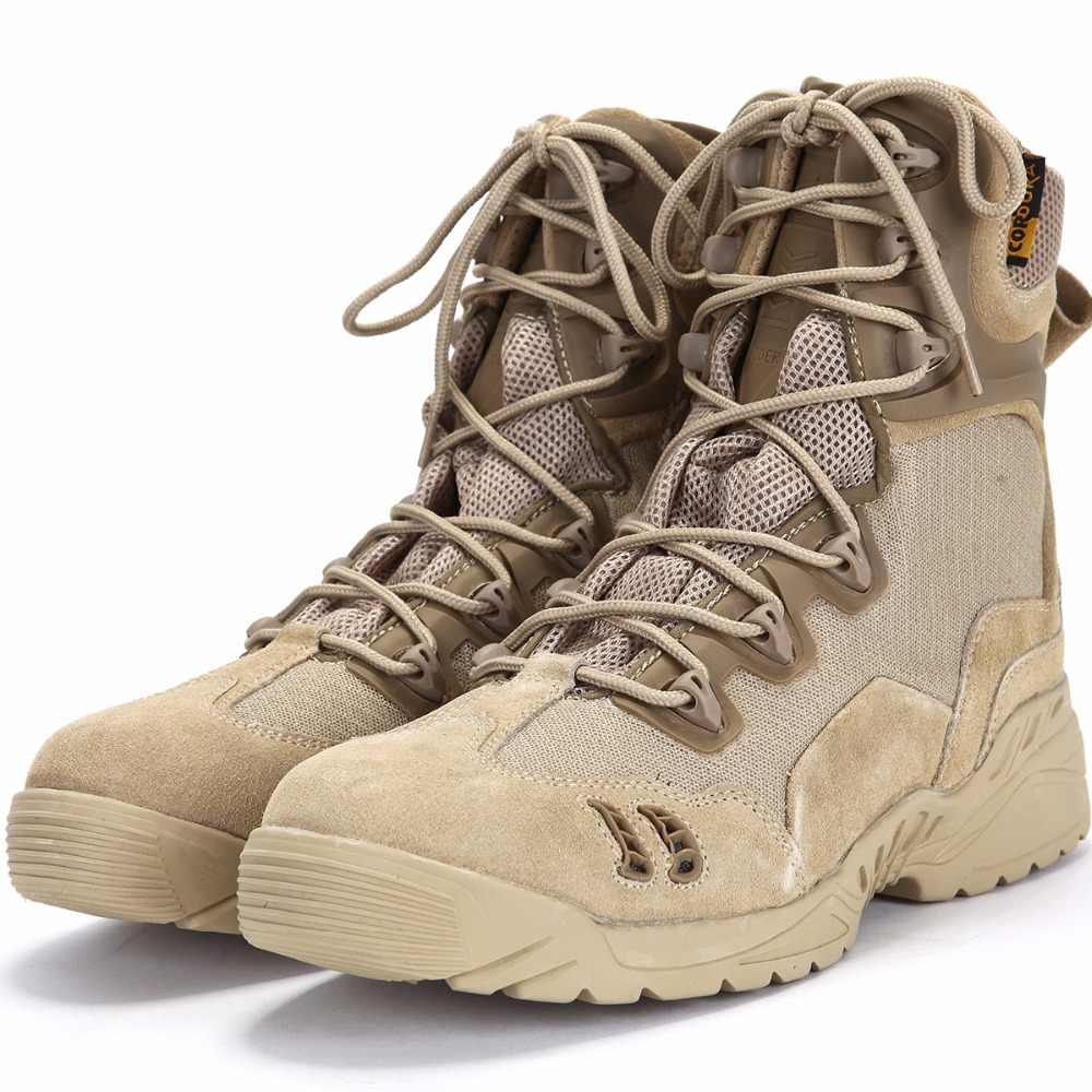 High Ankle Combat Boots