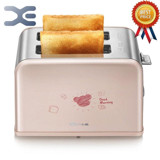 Мини-печь Высокое качество сентек тостер Бытовая техника тостер хлеб машина нагревательный оттаивания выпечки