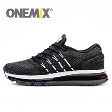 ONEMIX Men Flash Running Shoes Air Cushion Wearable Sport Shoes Breathable Comfort Fitness Sneakers Outdoor Casual Walking Shoes li ning men bubble ace super walking shoes breathable cushion lining comfort wearable sport shoes sneakers agcn005 yxb147