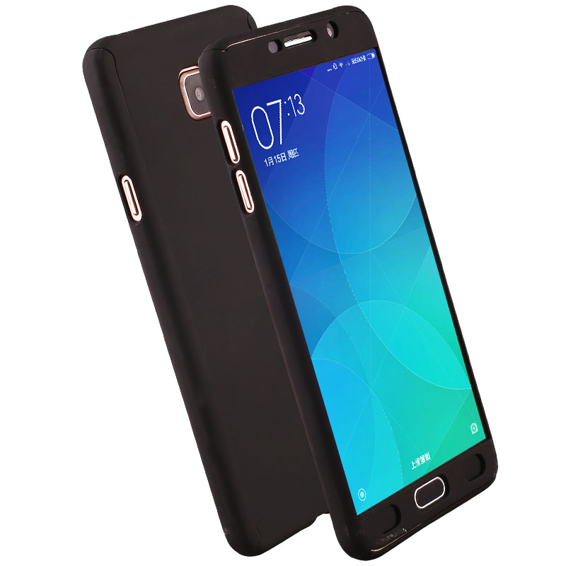 new product aafc3 c9268 US $3.38  KIYLCZXYCM For Samsung Galaxy A3 2017 A320 Case 360 Degree Full  Cover Protective Back Case For Samsung A5 2017 A520 + Glass Film-in Fitted  ...