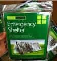 Novo Filme Aluminizado Tendas de Abrigo de Sobrevivência de Emergência de Primeiros Socorros Ao Ar Livre de Acampamento Caminhadas Tenda Cobertor de Salvamento Segurança L-009