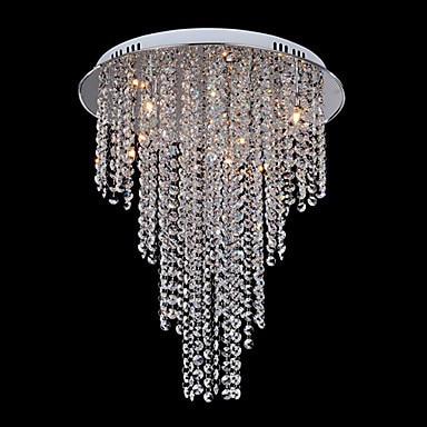 Deckenleuchten & Lüfter Licht & Beleuchtung Moderne Led Kristall Deckenleuchte Licht Mit 8 Lichter Für Wohnzimmer Beleuchtung Für Zuhause Lustre De Sala Kostenloser Versand Leuchte