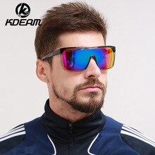 KDEAM Revamp Of Sport Men Sunglasses Beach Shades TAC Lens Shockingly Colors Big Sun Glasses Elmore Style Sunglass