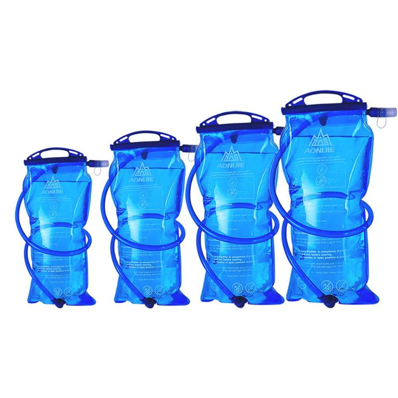 1/1.5/2/3L Cycling Water Bladder Hydration Pack Storage Bag Hiking Climbing Flask Bottle Outdoor Sport Hiking Camping Water Bag