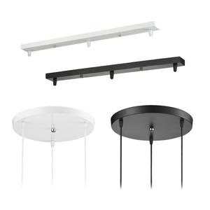 Image 1 - Pendentif Lampe Accessoire 3 lampes bar Ronde Plafond Monté Plaque Couvert Personnaliser pour Pendentif lumières hanglamp