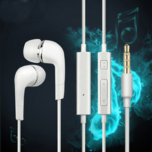 Headphones Music Earbuds Stereo Gaming Earphone 3.5mm Wired Earphones Headset with Mic for Samsumg Xiaomi iPhone 5s 6 Computer(China)