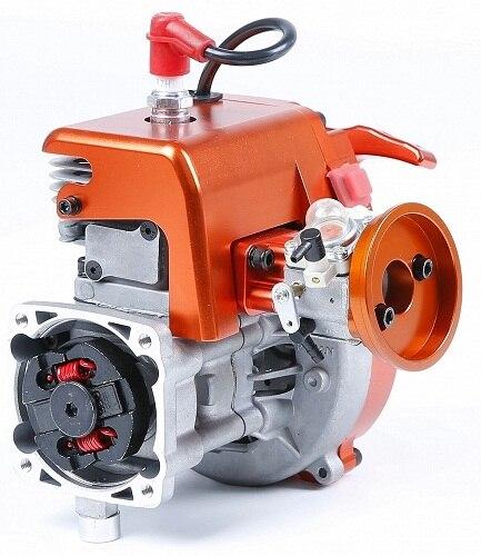 32cc 4 boulon moteur avec Walbro Carb 1197 et NGK bougie d'allumage pour 1/5 HPI BAJA 5B 5sc LOSI 5t DBXL FG buggy Redcat pièces de voiture - 2