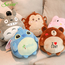 Saim 220V Hot Bottle Water Bag Electric Winter Hand Warmer Cartoon Doll Hot Water Bottle Hand Po Charging Hot-water Bag Pocket стоимость