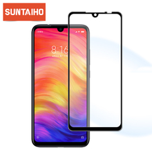 Suntaiho 9H Tempered Glass For Xiaomi Redmi Note 7 Full Cover Protective film Screen Protector For Redmi Note5 5Por For redmi 4X