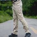 Безопасности Передач SWAT Боевые Военные Тактические Брюки Мужчины Большой Карман Военная Армия Брюки-Карго Случайные Телохранителя На Открытом Воздухе Брюки