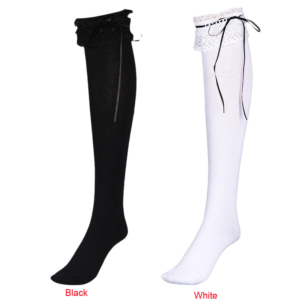 New Harajuku Christmas High Long Over Knee Thigh-High funny socks women Cotton soft female skarpetki medias de mujer #TW