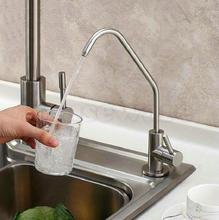 Sus304 нержавеющей стали свинца питьевой воды кухонная раковина кран чистый овощи бассейна нажмите zx959