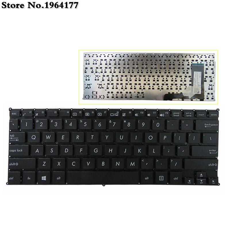 US Black New Laptop Keyboard For Asus E202 X205 X205T X205TA E202S E205 E202SA E202M E202MA TP201SA