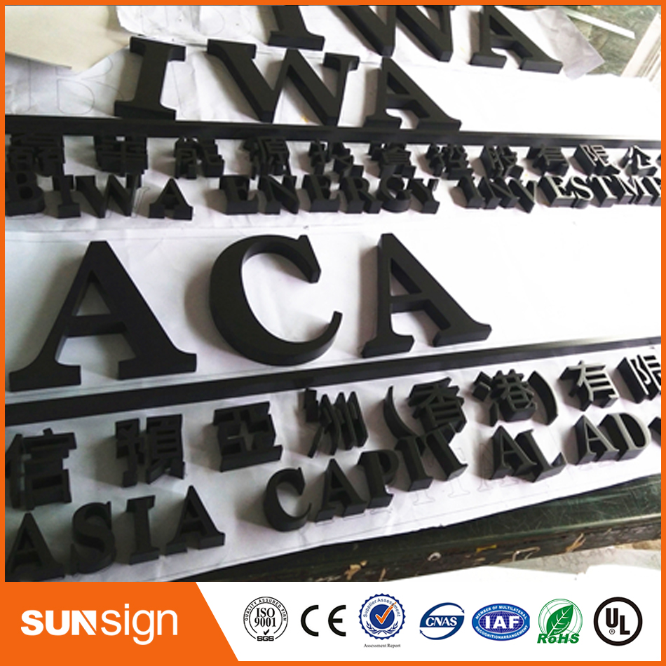 Popular 3D stainless steel house numberPopular 3D stainless steel house number