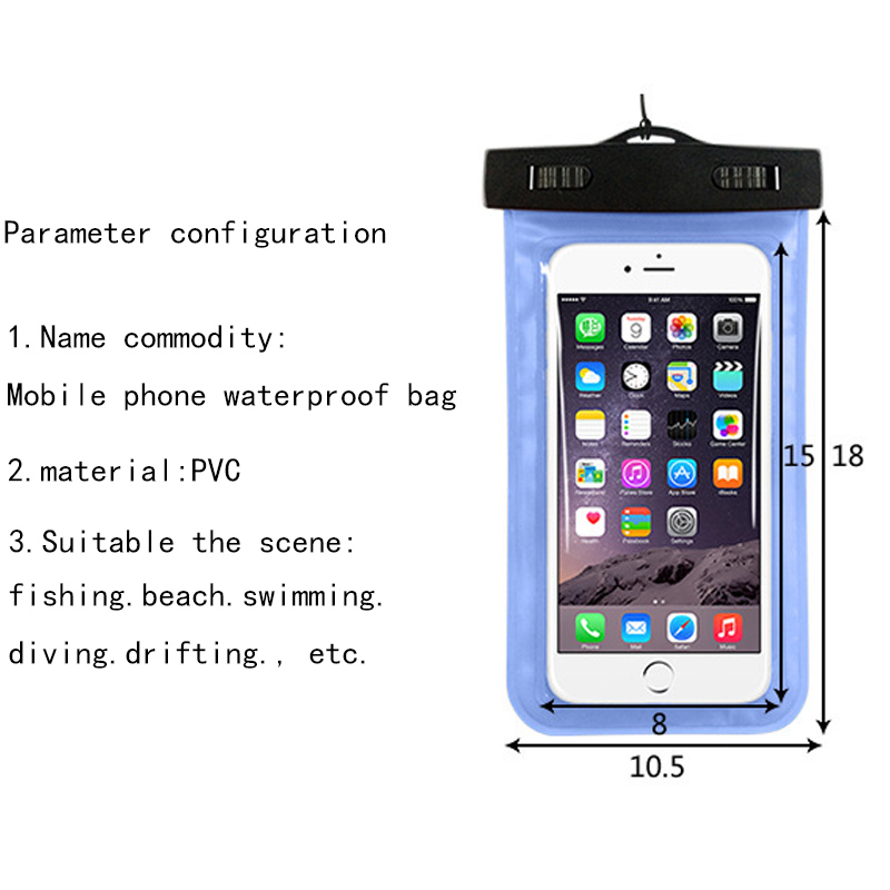 new arrival 1a5dc c2d3a Hot Sell PVC Waterproof Phone Case For Micromax A106 Underwater Pouch Phone  Bag cover For Micromax A 106 Cover Bag-in Phone Pouch from Cellphones & ...