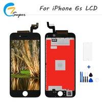 200ピース/ロットグレードaaa lcdスクリーン用appleのiphone 6 s表示液晶+タッチスクリーンデジタイザ中国携帯電話スペアパー