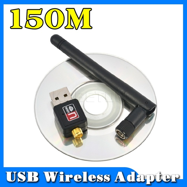 150Mbps sans fil WiFi adaptateur 2dB wifi antenne Lan sans fil carte réseau Portable USB WiFi récepteur Adaptador WiFi 802.11b/g/n  
