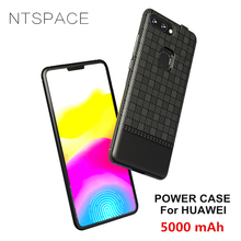NTSPACE Battery Charger Cover For Huawei Enjoy 7S 8 Plus Power Case 5000mAh Portable Bank Pack Back Clip