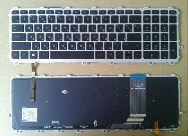 Nordic backlit keyboard for HP ENVY 15-j035so//15-j019so//15-j118so//15-j119so