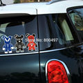 Newest Car Styling Decal Mini Mori Chack Gloomy Stickers for MIni Cooper Clubman Roadster Countryman Paceman Coupe jcw