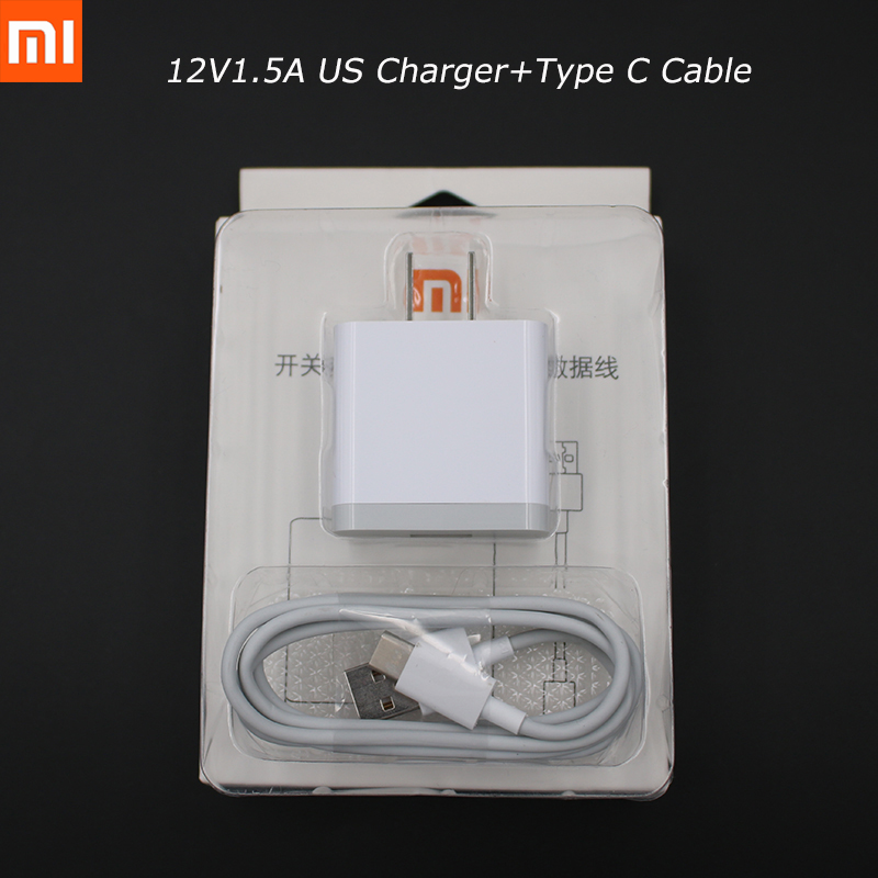 Оригинальный Xiao mi 6 mi 8 lite 12V1. 5A QC3.0 Quick Charge адаптер + Тип usb C кабель для mi Max 2 3 mi x S 2 S redmi 4X 5A redmi pro