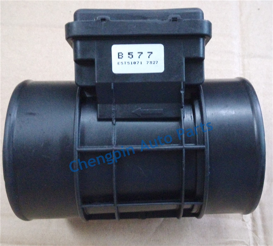 Auto Parts Original Mass Air Flow Sensor OEM# B577 E5T51071  MAF For 93-97 MAZDA 626 MX-6 2.0L 97 % new original mass air flow sensor meter maf e5t08171 md336501 for mitsubishi eclipse montero sport galant v6