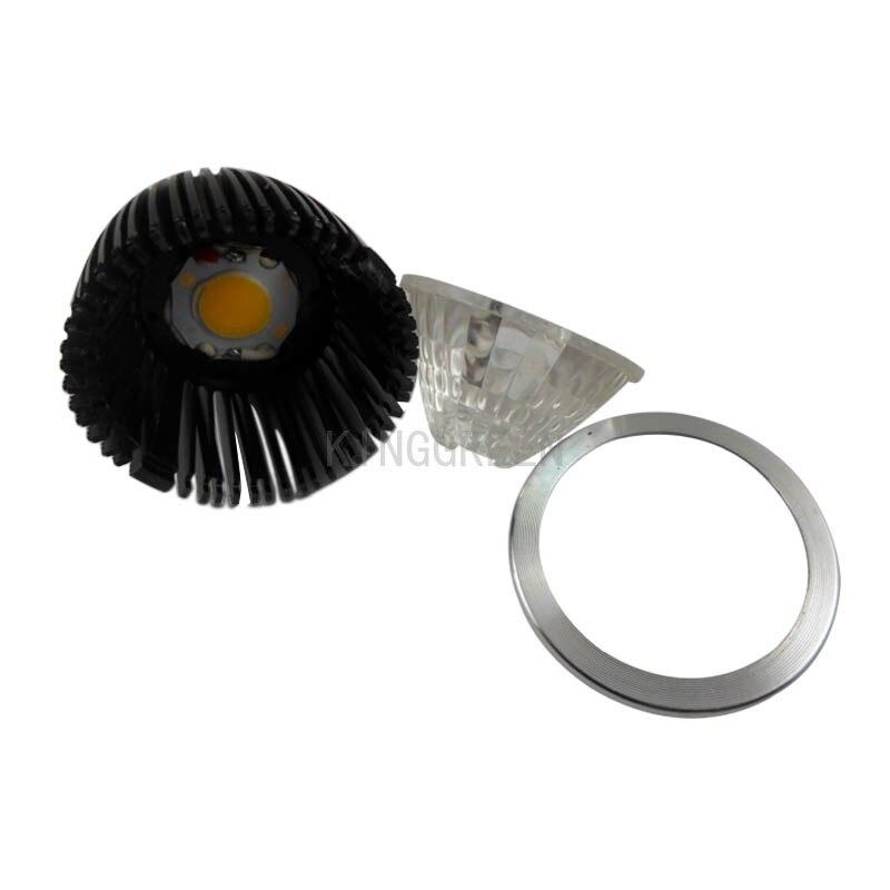 100X жоғары сапалы 110V / 220V GU10 / E27 / E14 7W COB - LED Жарықтандыру - фото 3