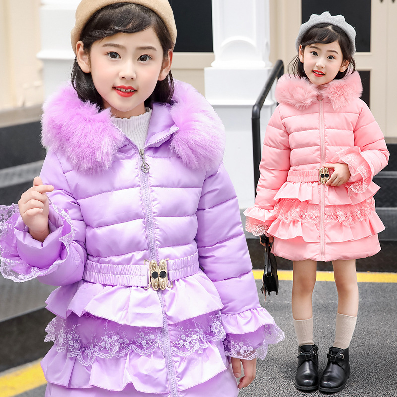 Kids Winter Coats Thicken Warm Hooded Jacket for Girls Parkas 2018 New Long Children Outerwear Overcoat Teenage Girl Clothing 2018 girls clothing warm down jacket for girl clothes 2018 winter thicken parka real fur hooded children outerwear snow coats