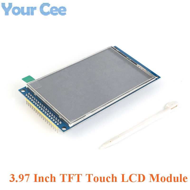 """3.97 pouces TFT IPS tactile LCD écran Module haute résolution 800*480 3.97 """"STM32 pilote IC OTM8009A kit de bricolage pour Arduino"""