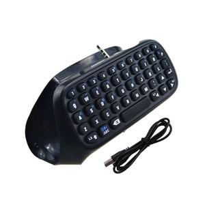 Image 3 - Mini Bluetooth kablosuz klavye için PS4 Joystick Chatpad için Sony Playstation 4 için PS4 denetleyici