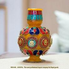 Nepal Trade manual resin imitation crafts Home Furnishing decoration Tibetan beeswax vase